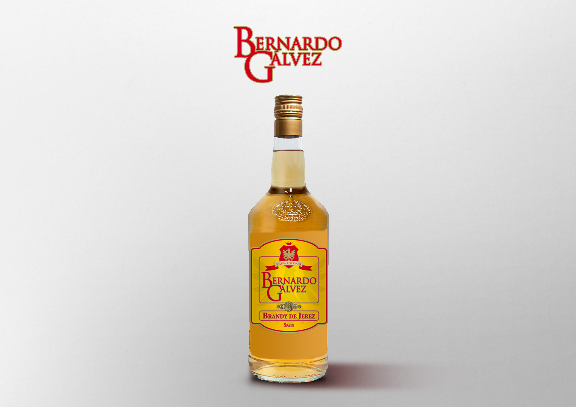 brandy bernardo galvez exportación de licores