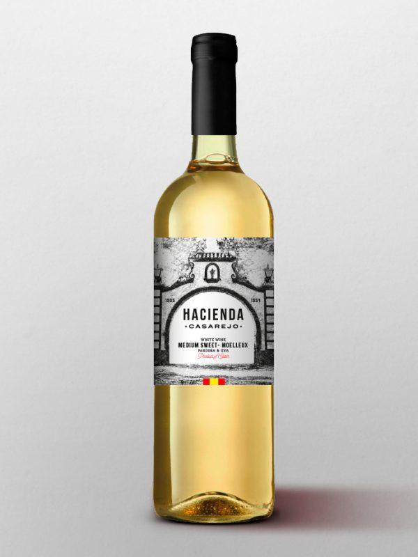 vino blanco hacienda venerable capital