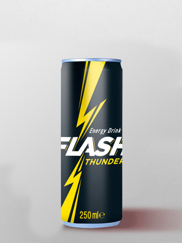 flash thunder energy drink