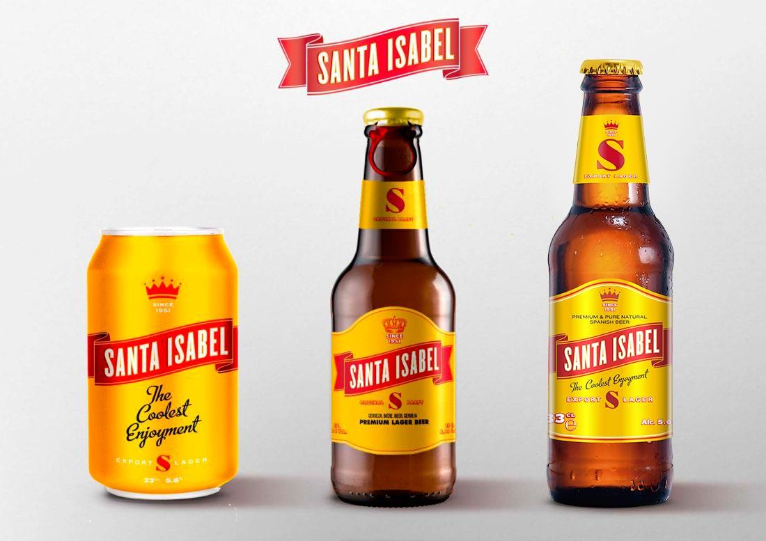 exportacion de cerveza santa isabel