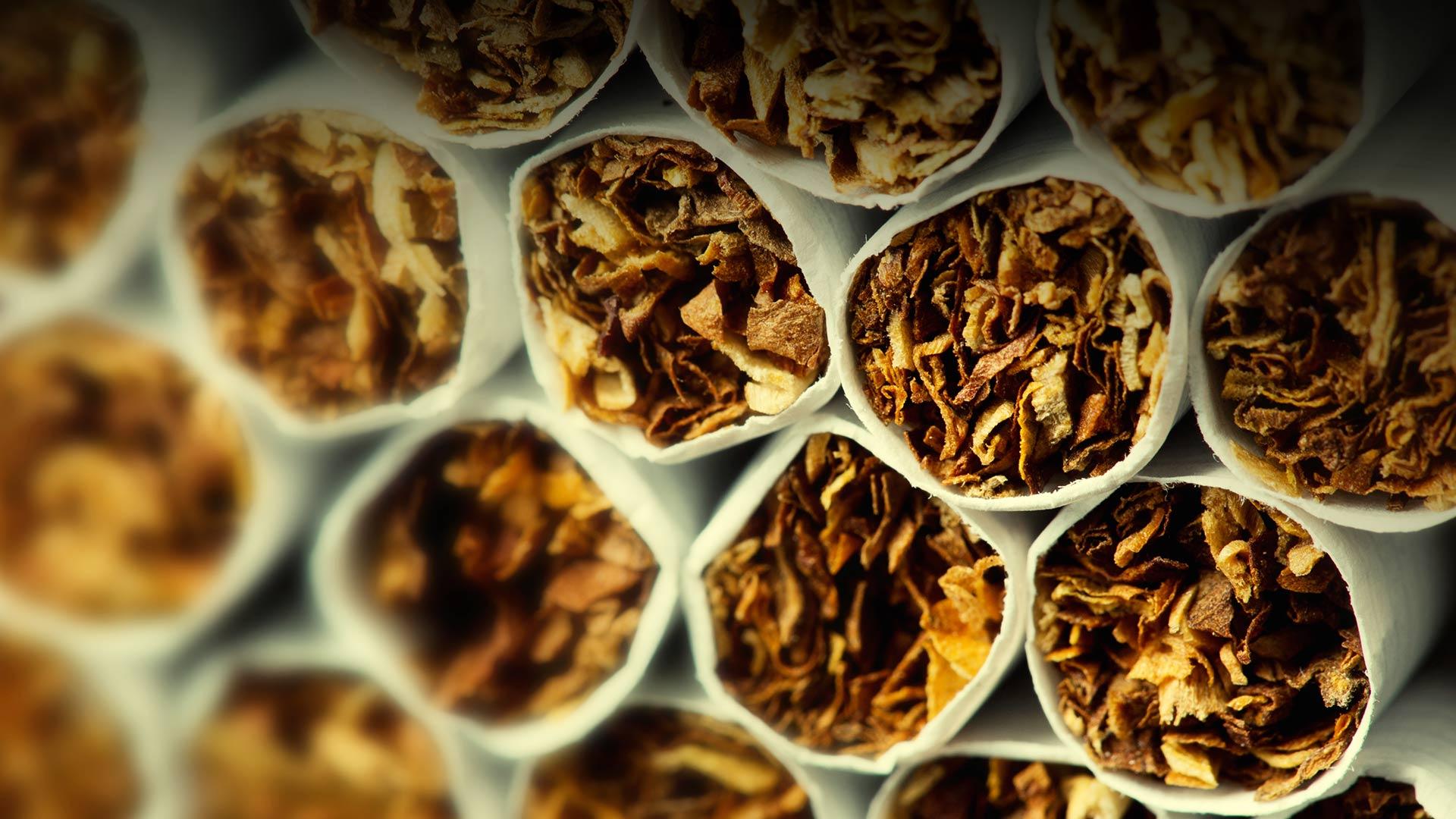 venta de tabaco internacional