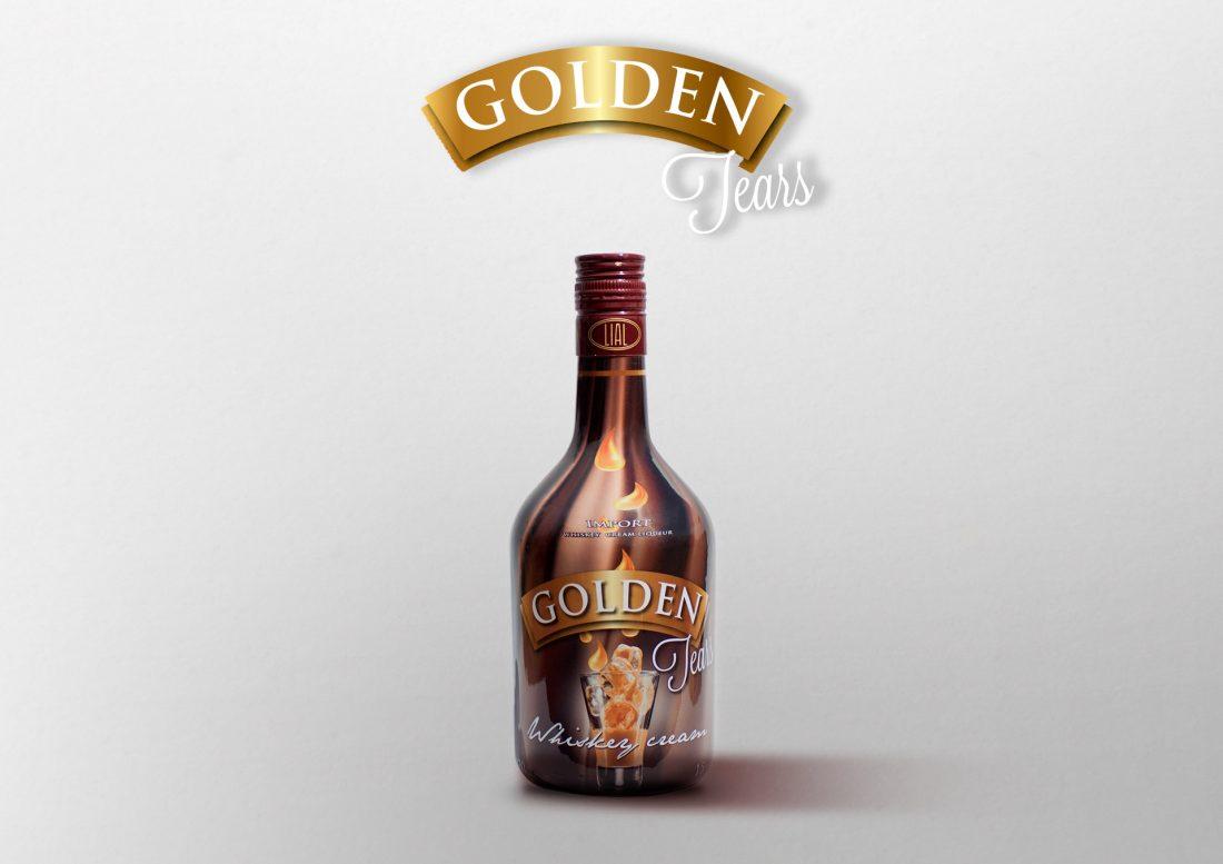 crema de whisky golden tears exportación de licores