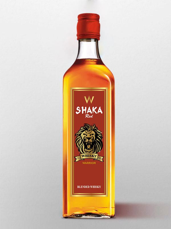 shaka whisky red