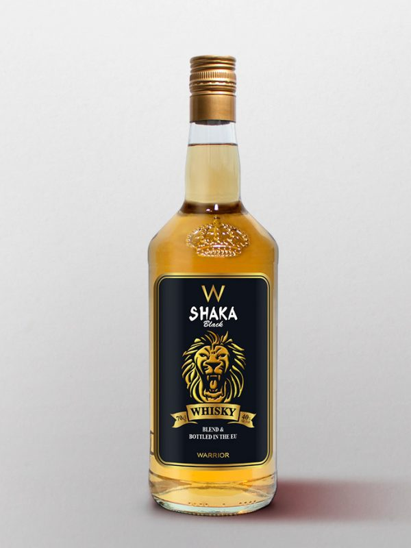 whisky shaka black importation