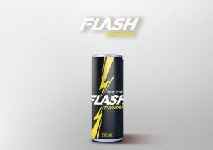 refrescos y bebidas no alcohólicas flash tunder