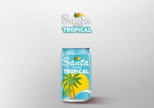 refrescos y bebidas no alcohólicas santa tropical