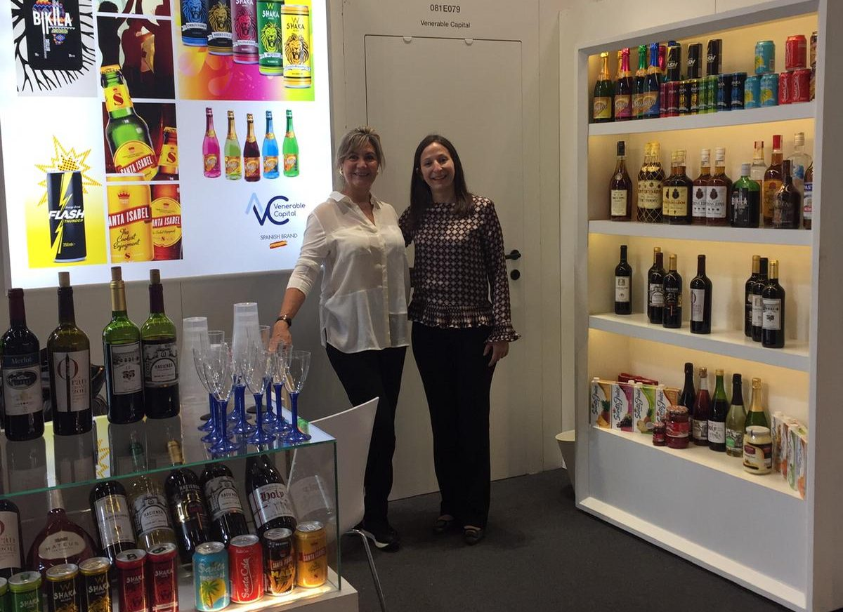 stand venerable capital en feria internacional anuga