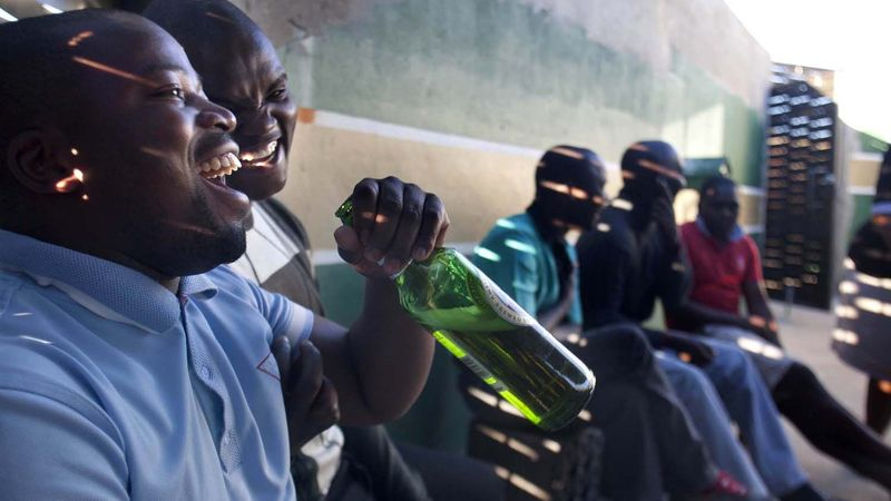 alcohol consumption in Africa