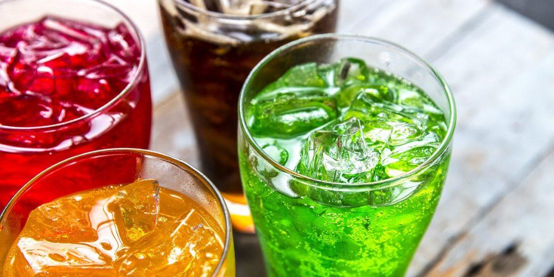 boissons non alcoolisées gazeuses