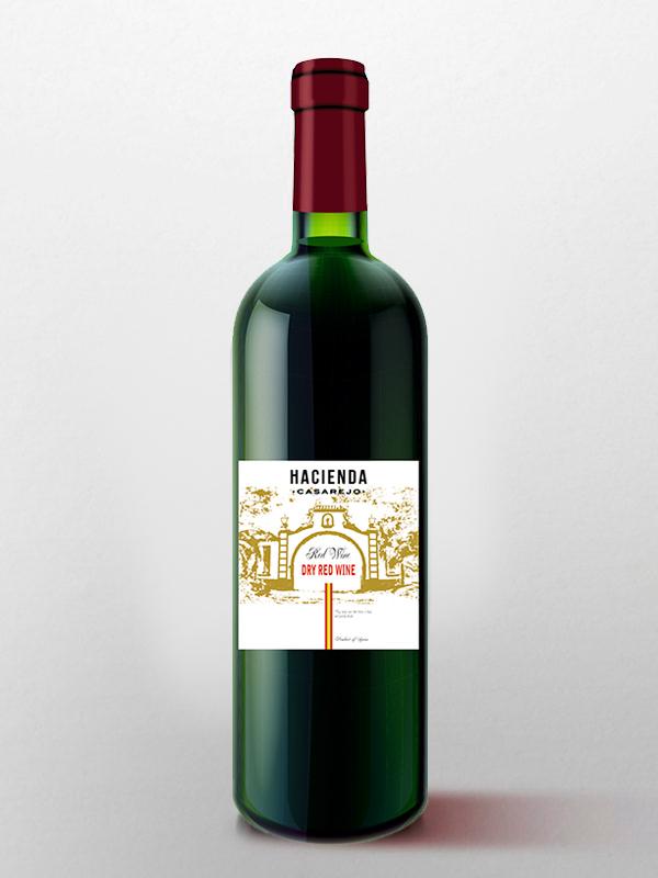 hacienda casarejo vino tinto seco
