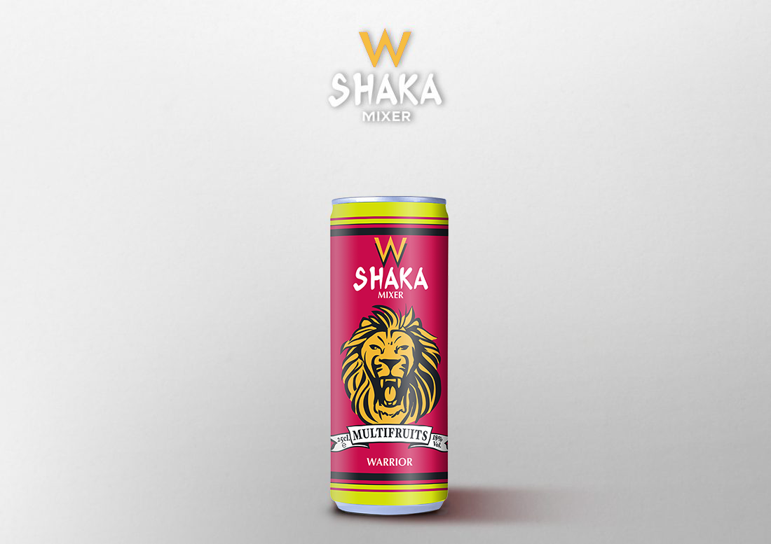 Shaka Mixer Multifruits