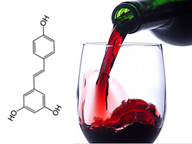 vin rouge cœur resvératrol