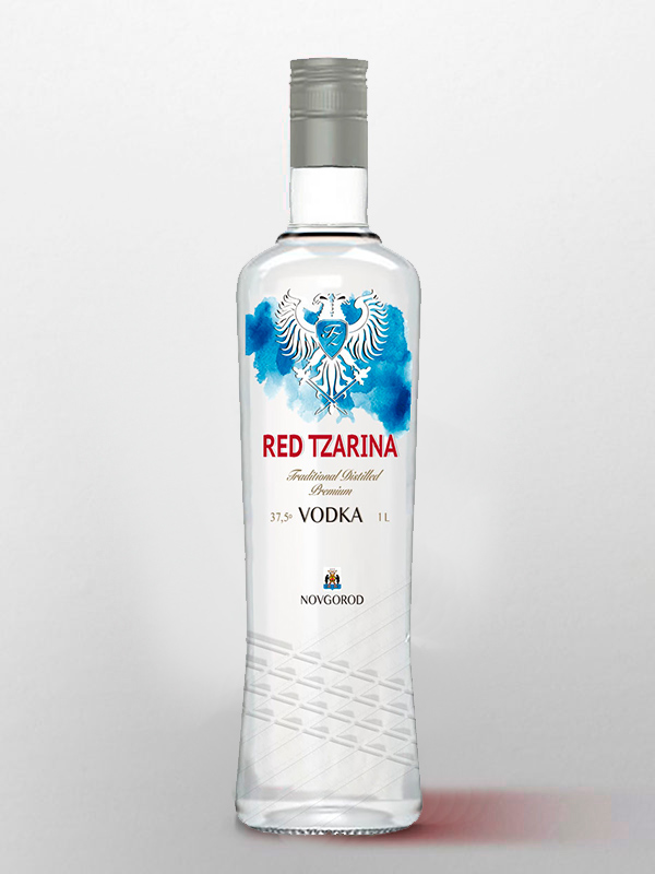 vodka red tzarina importar