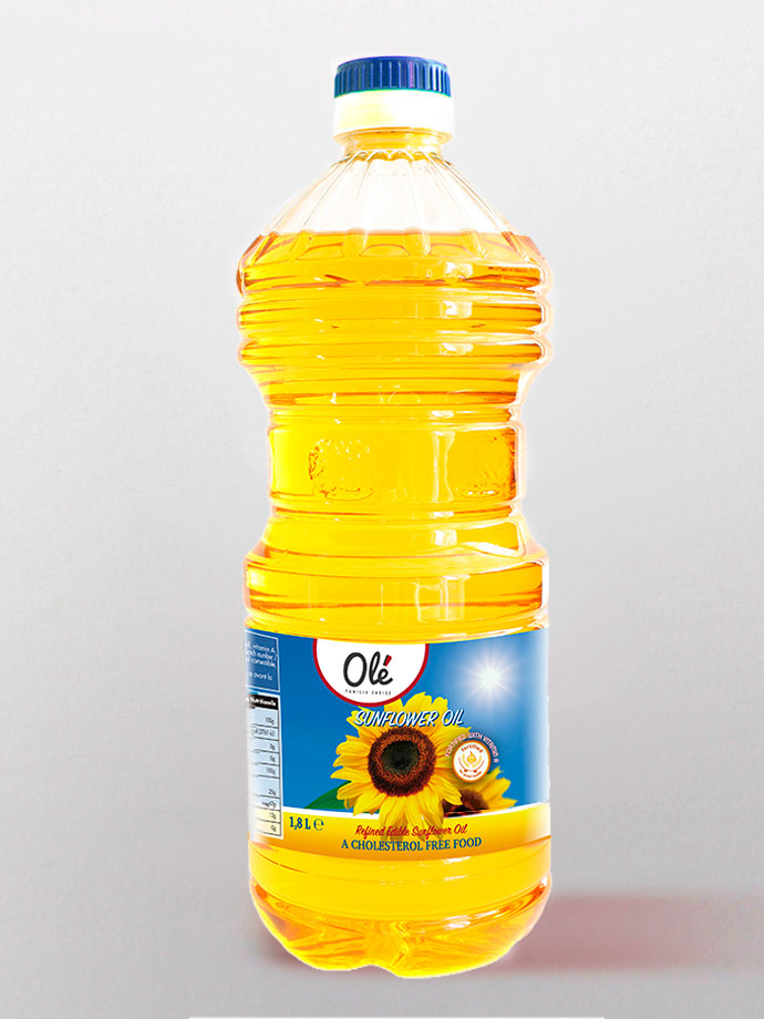 exportation sunflower oil spanish