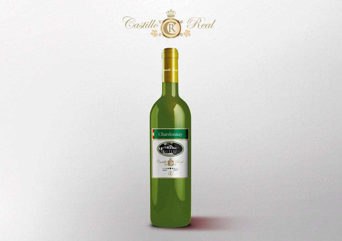 exportacion de vino blanco chardonnay castillo del real