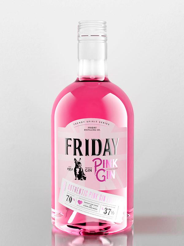 gin pink friday
