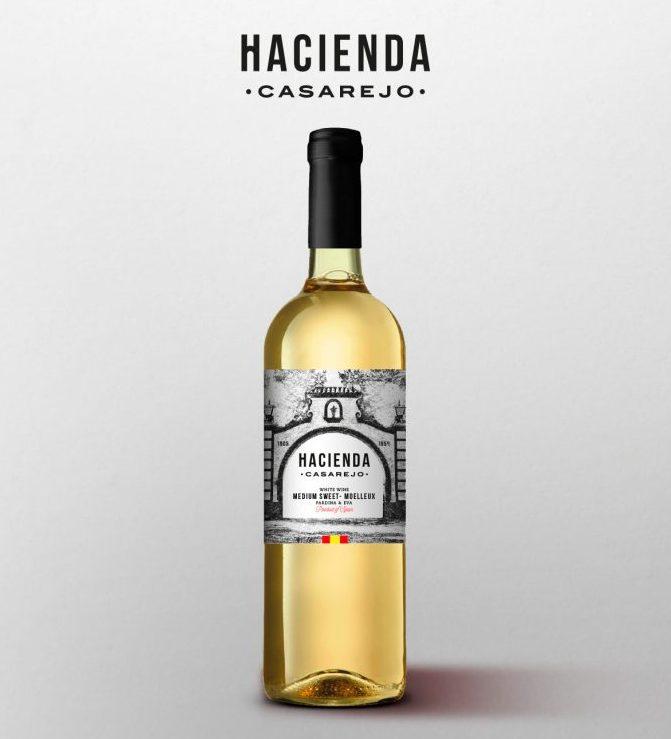 beneficios vino blanco Hacienda Casarejo
