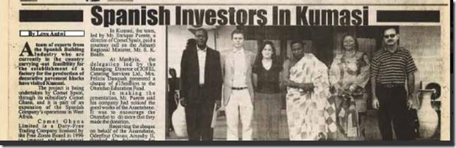 inversores españoles en kumasi