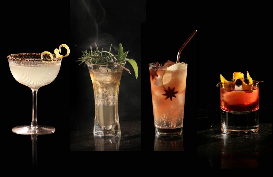 boissons et cocktails pour l'automne