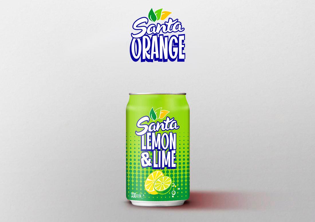 santa lemon&lime nueva bebida refrescante