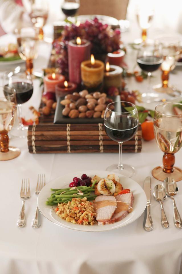 Bebidas para la cena de Acción de Gracias