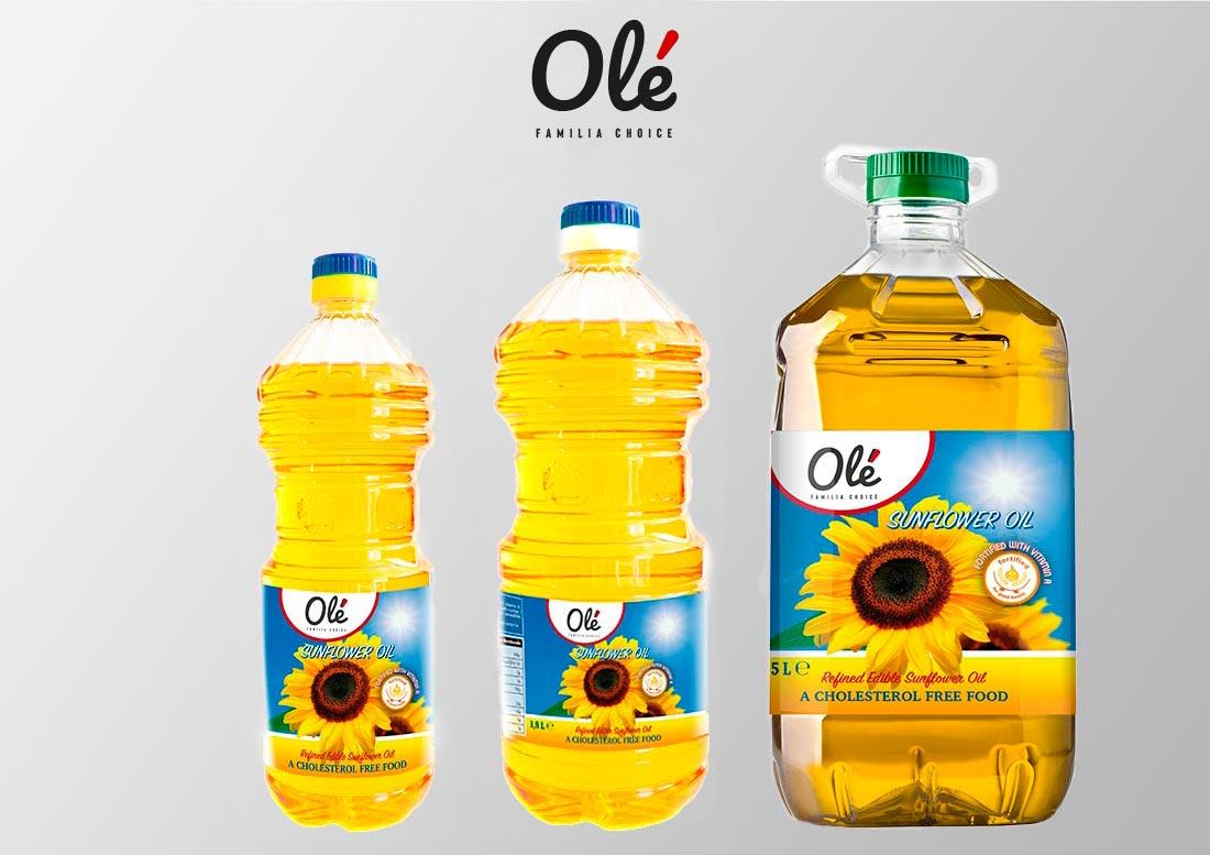 aceite de girasol venerable