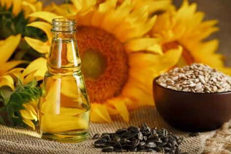 aceite de girasol beneficios