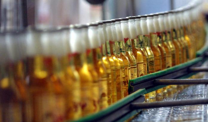 exportación de cerveza