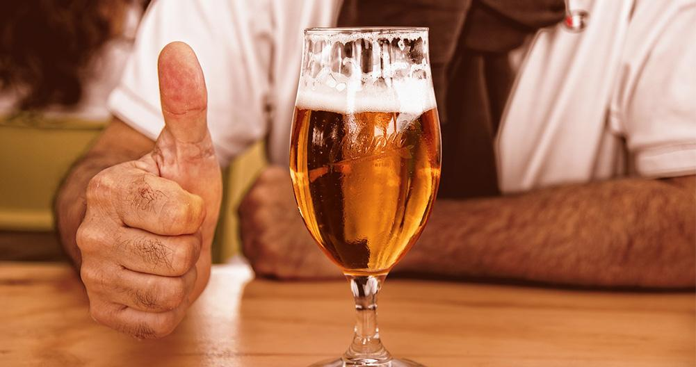 beer consumption evolution