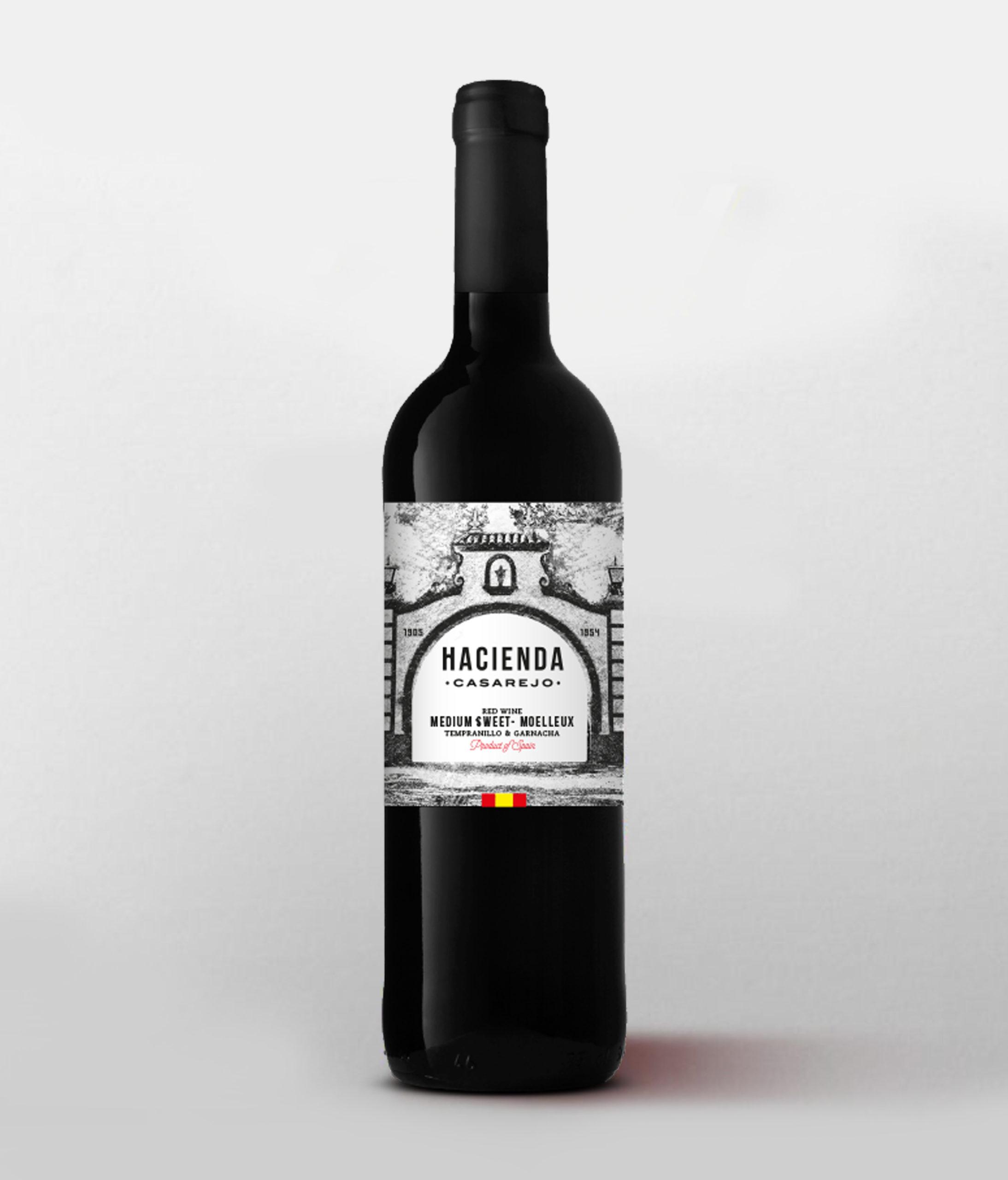 vino tinto hacienda casarejo