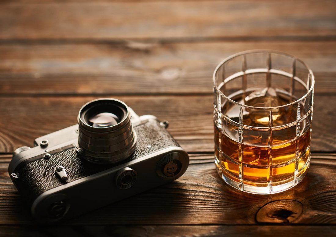 sachet whisky